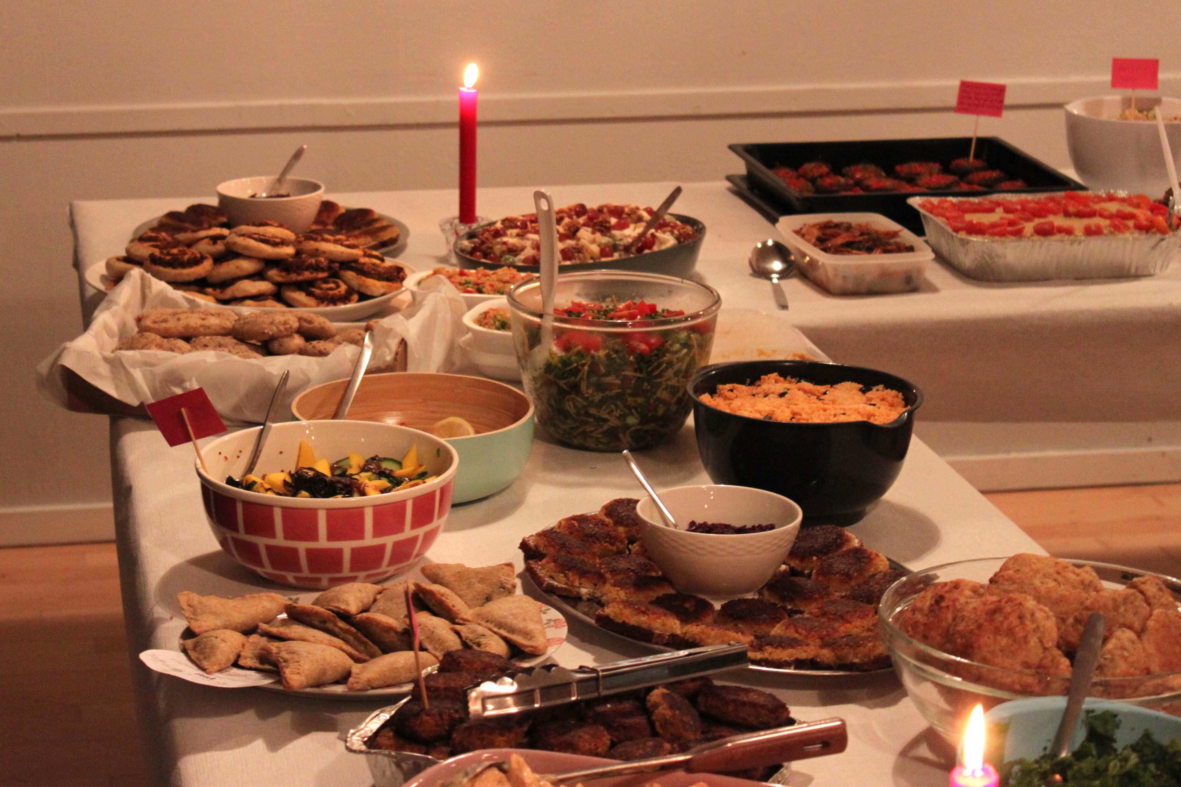 Vegansk julefrokost 2011 | Mia Sommer